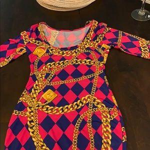 Nicki Minaj midi dress